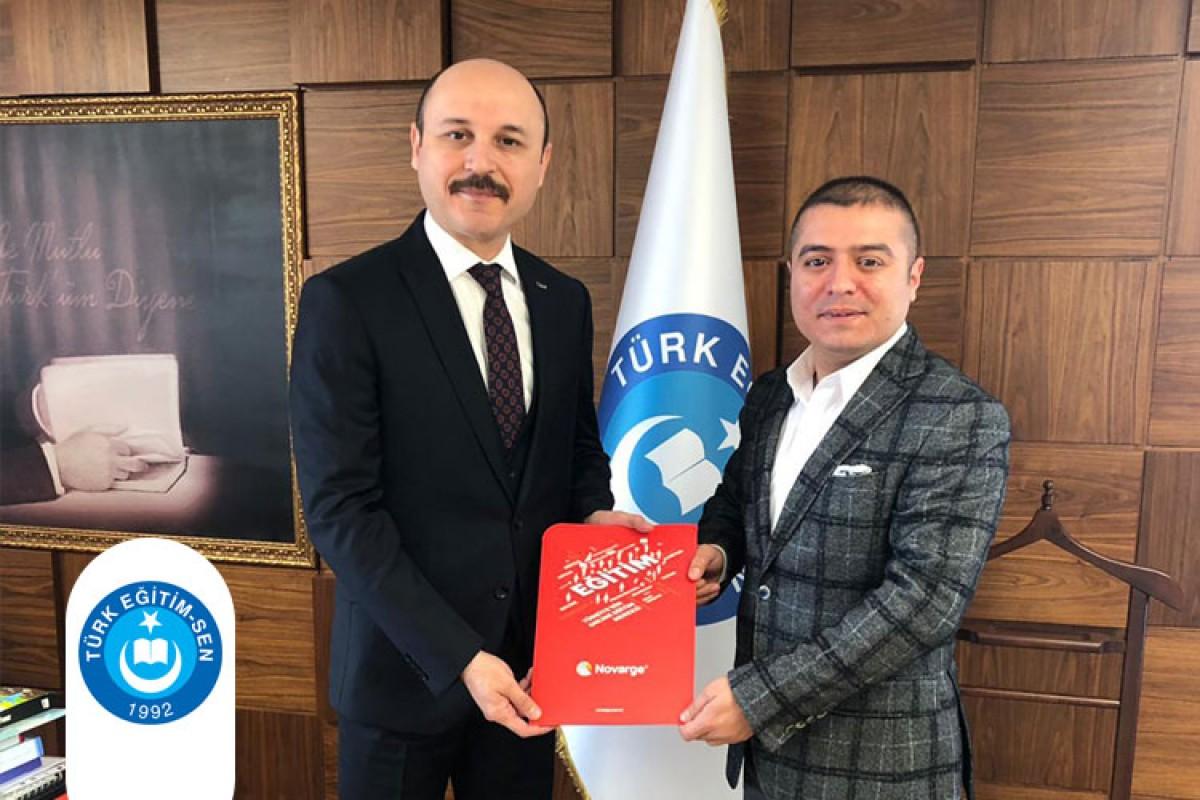 Türk Eğitim-Sen ile Novarge Arasında İşbirliği Protokolü İmzalandı