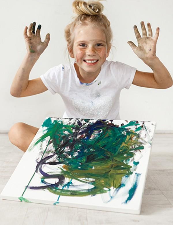 Hayal Gücüne Yakın: Çocuklarda Resim Analizi ve Eğitim Programı